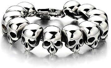 bracelet tête de mort homme 3