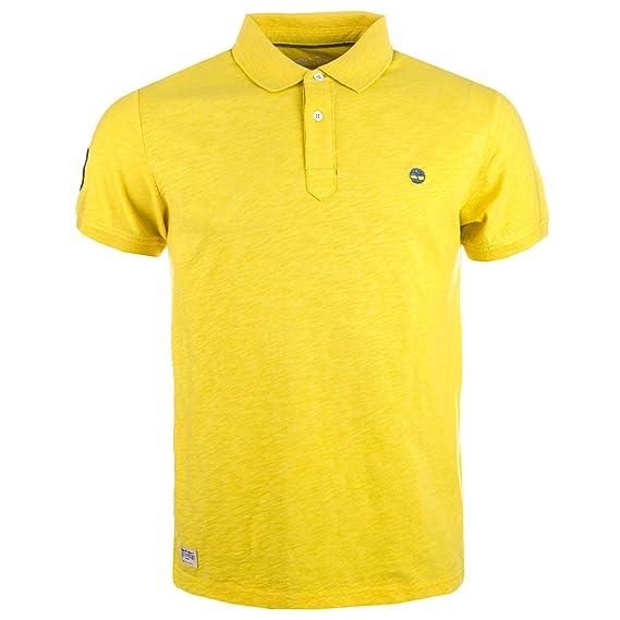 Timberland - Polo - para Hombre Amarillo XL: Amazon.es: Ropa y ...