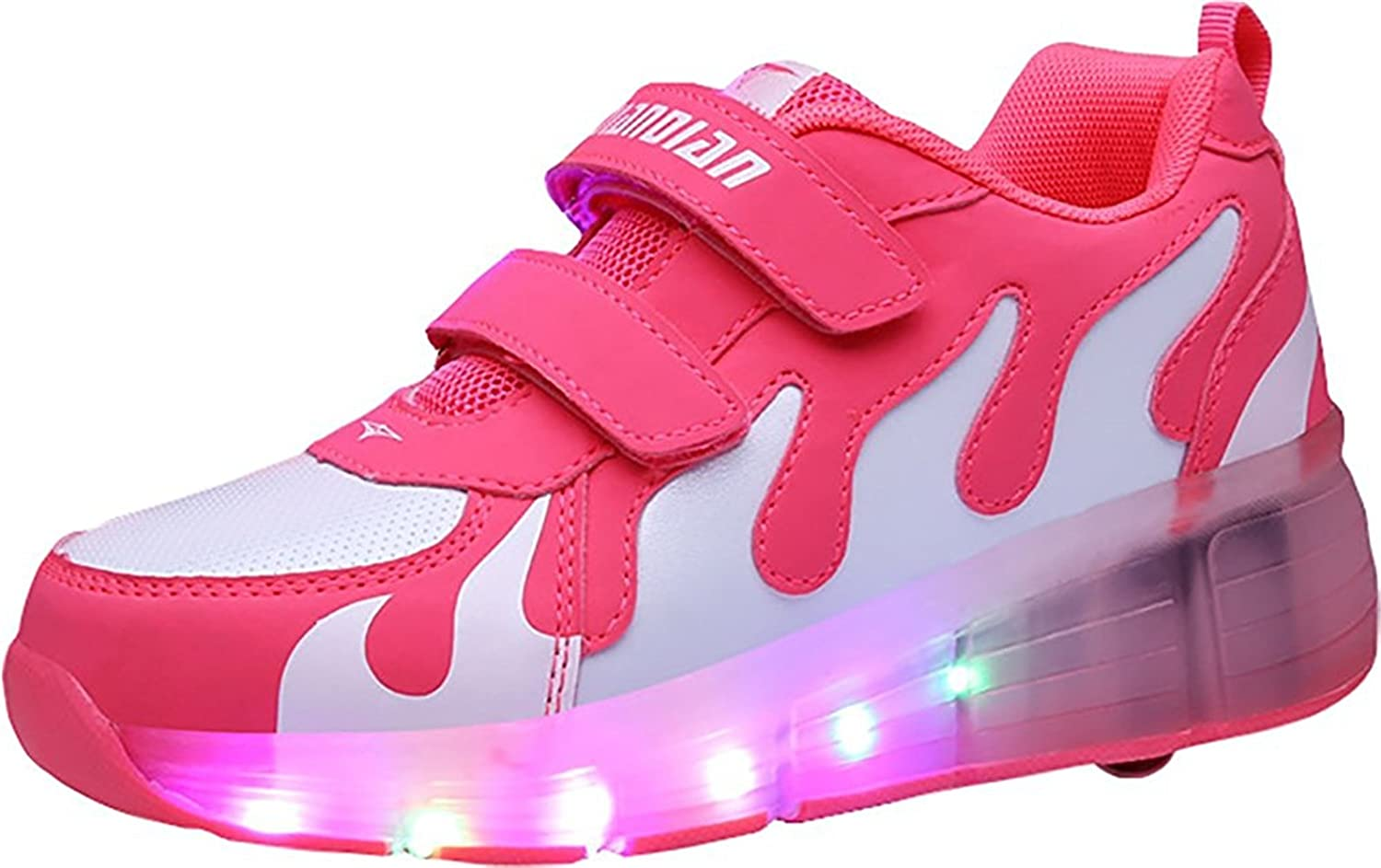 Men's/Women's EVLYN Kids Kids Kids Shoes LED Light up Shoes Roller Skate Shoes Unisex Kids Boy Girl Flashing Sneakers Kids Gift The color is very eye-catching Carefully selected materials Extreme speed logistics GR8189 a96866