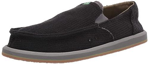 16256a25e192 Sanuk Men s Pick Pocket Hemp Loafer Flat  Amazon.co.uk  Shoes   Bags