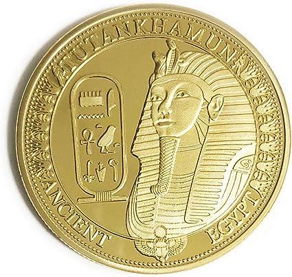 OZUKO Egiziano Antica Dea Iside Piramidi Moneta commemorativa da Collezione di Monete Egitto