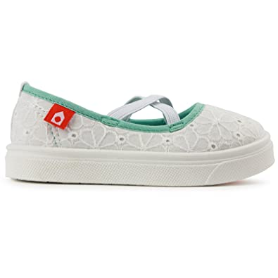 Amazon Com Oomphies Baby Girls Tess 4c White Shoes