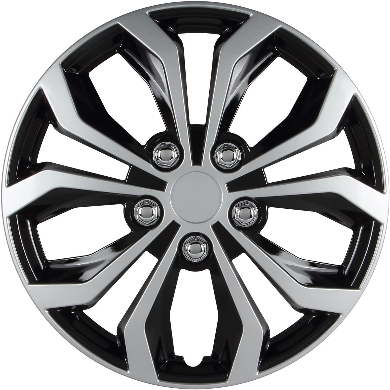 Pilot Automotive Universal Fit Spyder Wheel Cover
