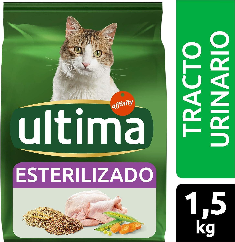 Ultima Pienso para gatos esterilizados con problemas del tracto ...