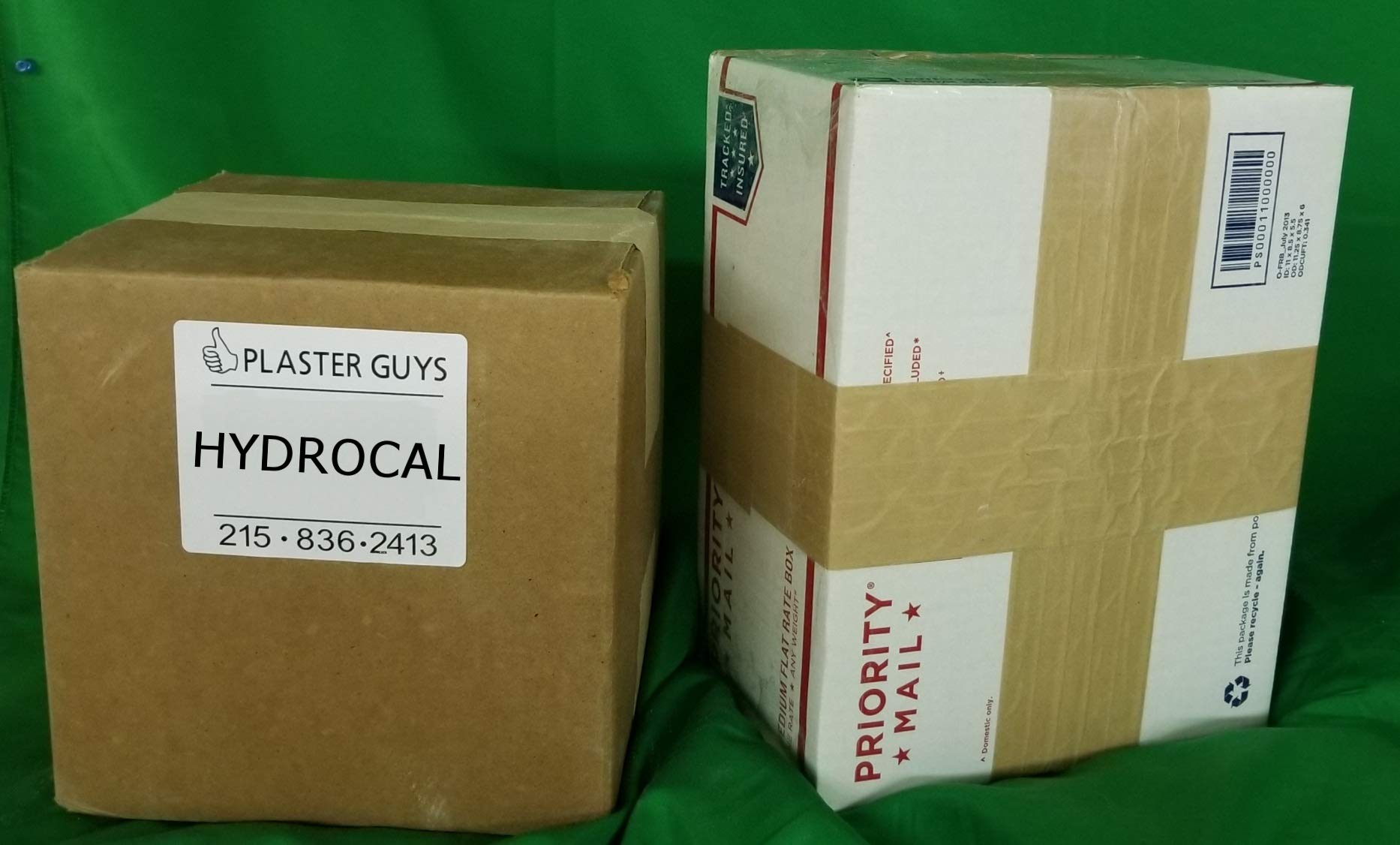 Hydrocal Plaster - Quick Set - Scenery Plaster - Model Railroad - 38 lb Box - Direct from Manufacturer