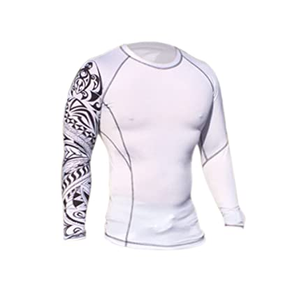 Surf Team Six Rash Guard Top – UV Protection – SPF30 – Fitted – Long Sleeves