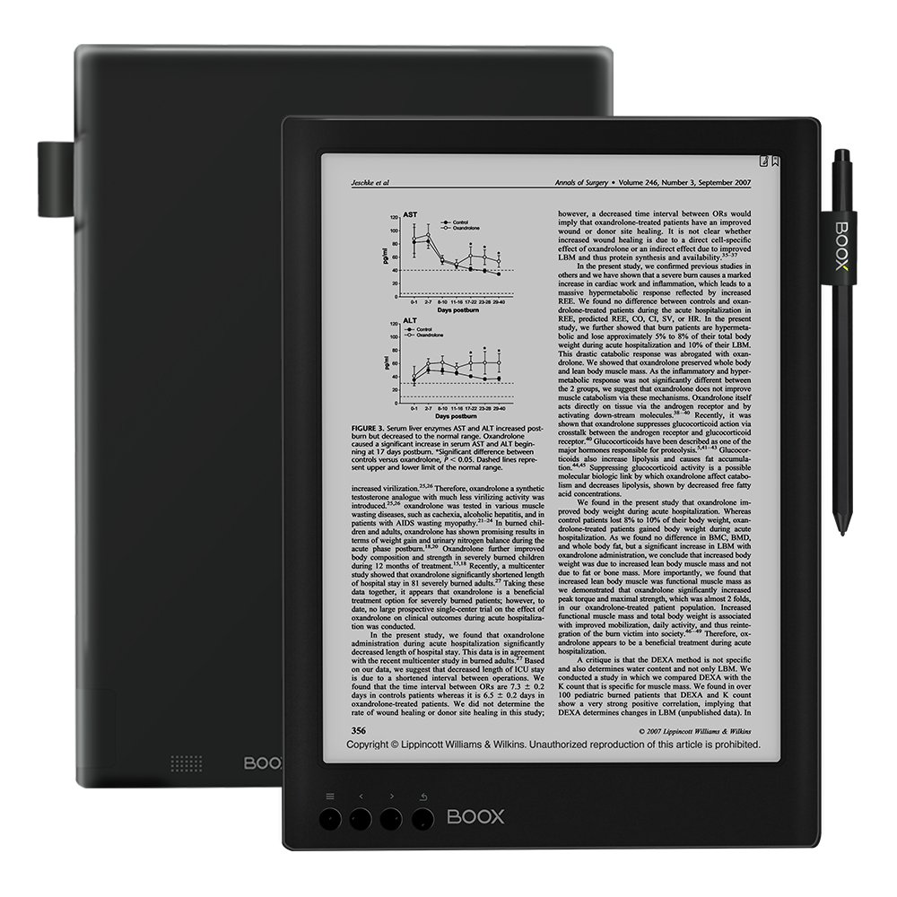 BOOX Max2 Ereader,Android 6.0 32 GB with HDMI Interface,13.3'' Dual-Touch HD Display by BOOX