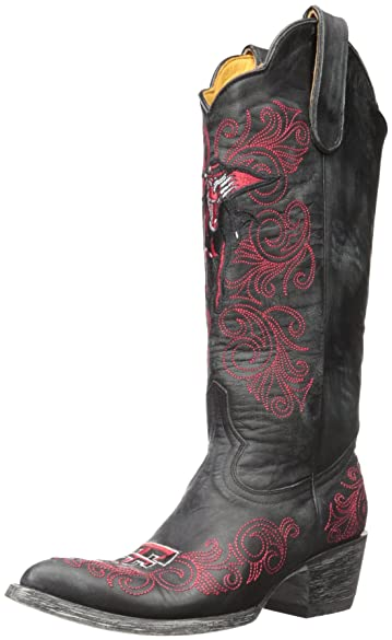 Amazon.com | Gameday Women's Texas Tech Cowgirl Boot Pointed Toe ...