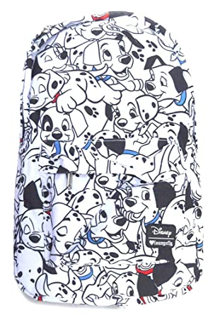 Loungefly Disney 101 Dalmatians All Over Print School Backpack