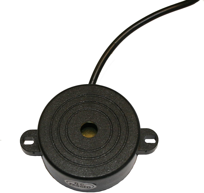 - Azul el/éctrico 4 sensores de inversi/ón ultras/ónicos Kit de sensores de estacionamiento Trasero Dolphin DPS400 Sistema de Alerta de Audio pitido