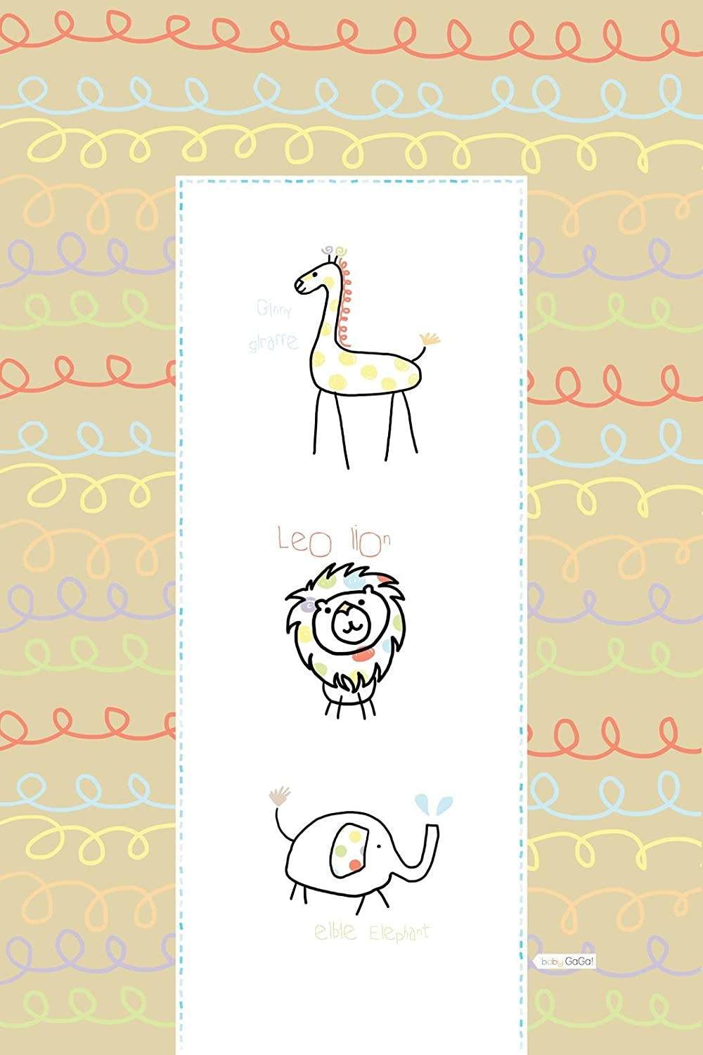 Baby Changing Mat Spaghetti Zoo by E/&A Distribution Limited Orange