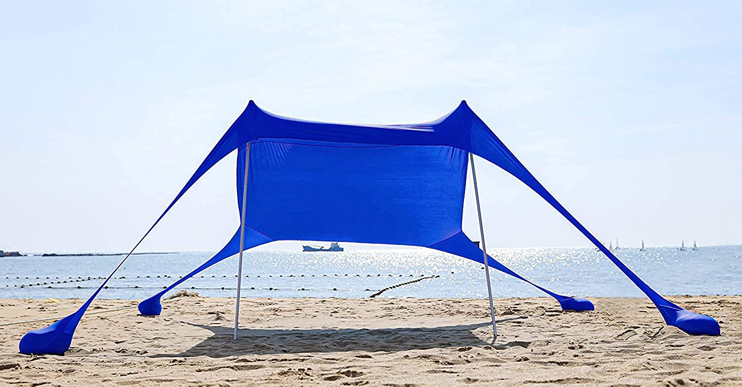 AMMSUN Beach Tent with'sandbag Anchor