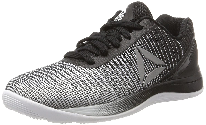 Reebok R Crossfit Nano 7.0, Zapatillas de Running Unisex 35 EU W Blanco (White/Black/Silver Met)