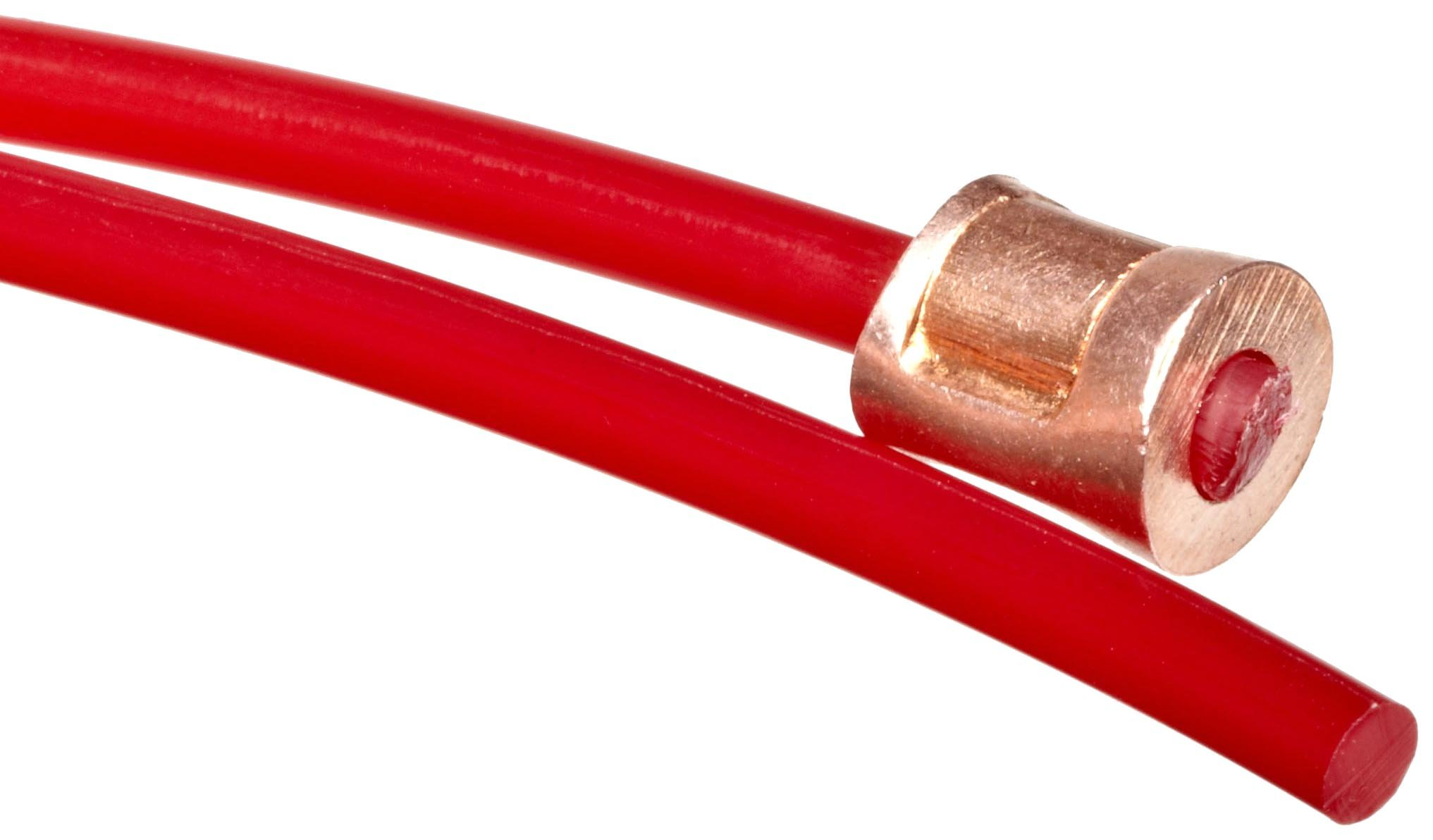 Brady 50948 12' Length, 1/8'' Diameter, Red Color Nonconductive Nylon Cable