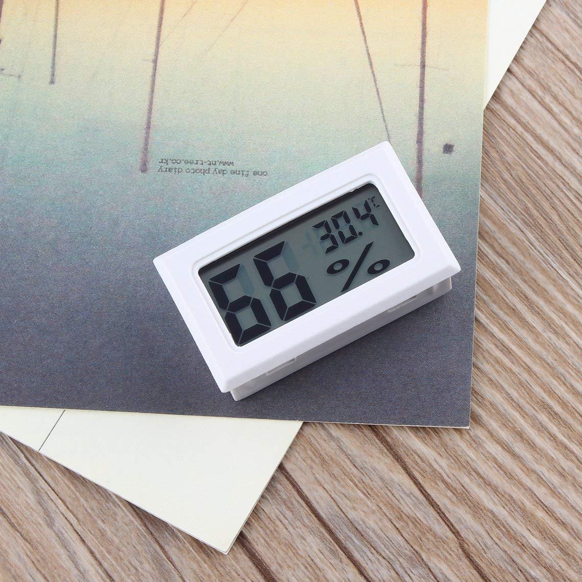 Momorain Thermom/ètre num/érique Professionnel LCD Thermom/ètre Hygrom/ètre Humidit/é Temp/érature M/ètre Capteur daffichage num/érique LCD int/érieur