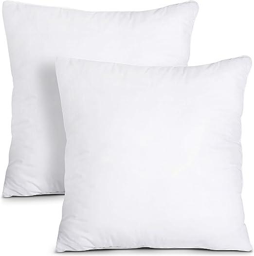 Amazon Com Utopia Bedding Throw Pillows Insert Pack Of 2 White