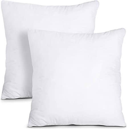 Utopia Bedding Coussins de Garnissage (Blanc,