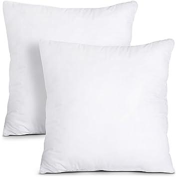 Amazon.com: Utopia - Almohadas decorativas para cama y sofá ...