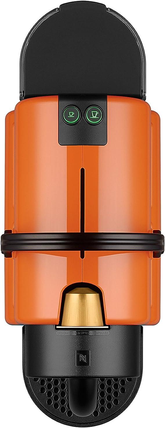 DeLonghi Nespresso Inissia EN 80.O - Cafetera automática, 19 bares, color naranja: Amazon.es: Hogar