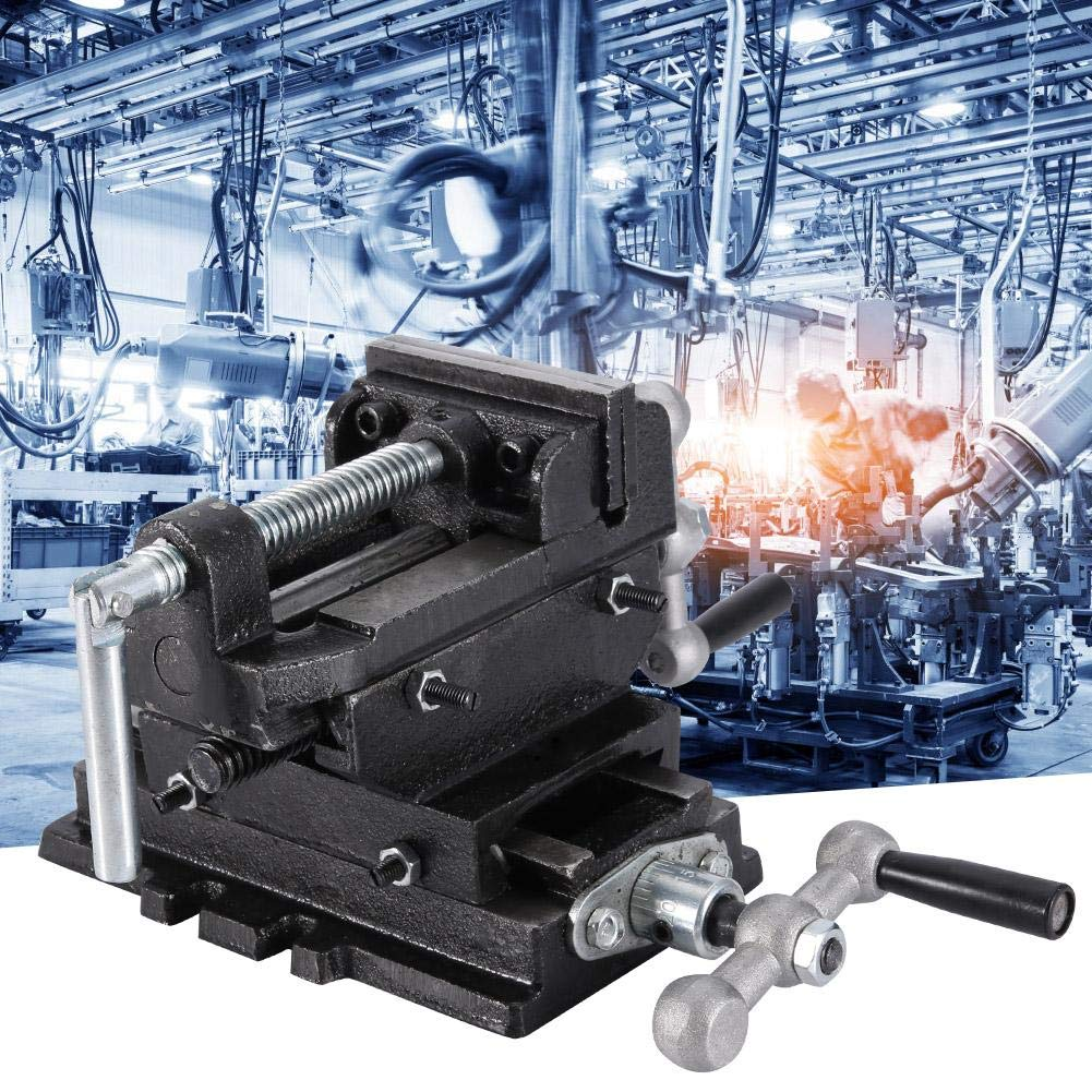 375mm 3 Inch Cross Sliding Press Vise Drill Heavy Duty Metal Milling 2 Way X-Y Bench Clamp Factory Compound Machine