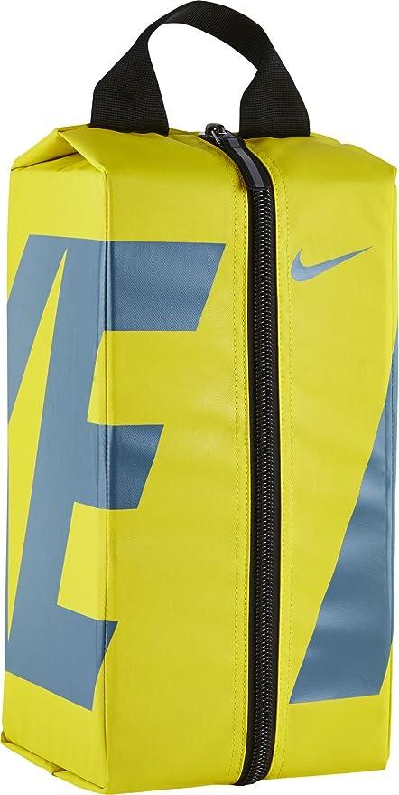 Nike Nk Alpha Shoe Bolsa de Deporte, Hombre, Amarillo ...