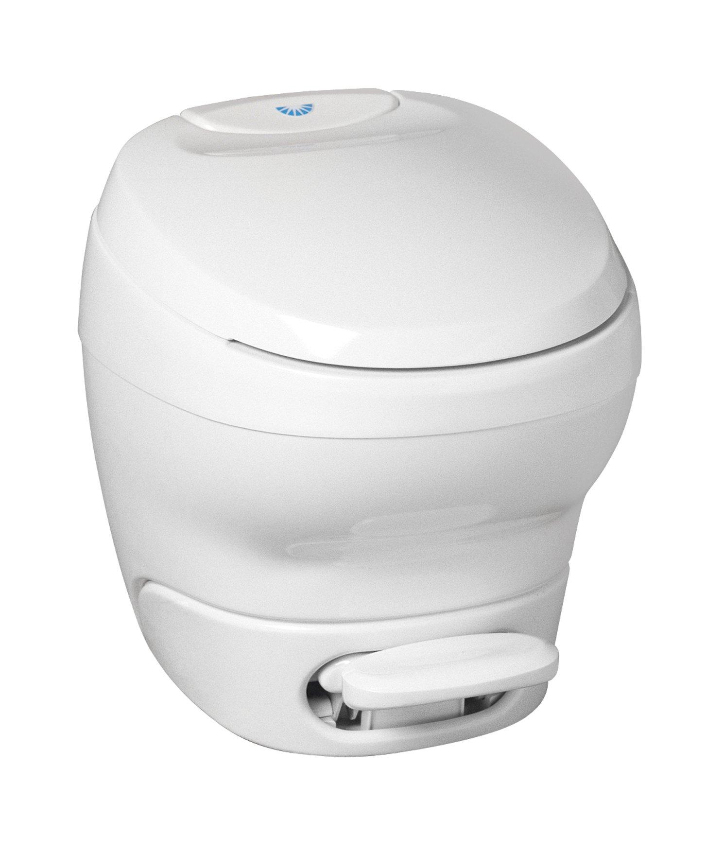 Thetford White Aqua Magic Bravura RV Toilet-High Profile Color 31084 by Thetford
