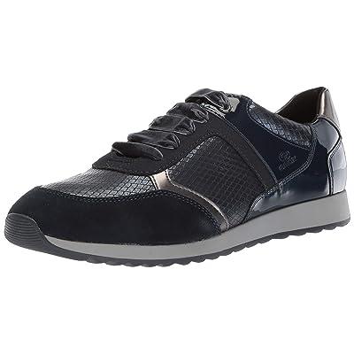 Geox Women's Deynna 6 Snake Print Fashion Sneaker   Fashion Sneakers