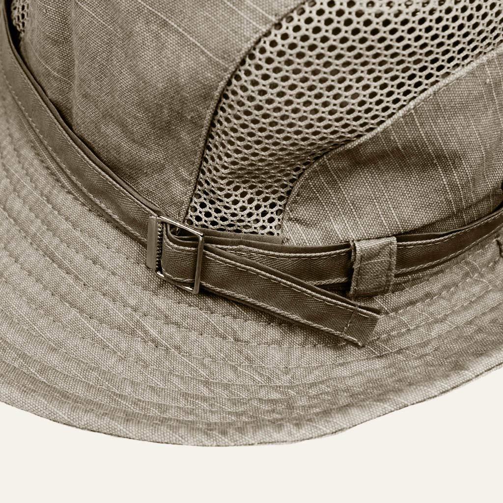 Windproof Fishing Hats Wide Brim Sun Protection Hat Outdoor Mesh Fishing Cap degasAdG Women Short Sleeves Tops Sun Hat Summer 2019