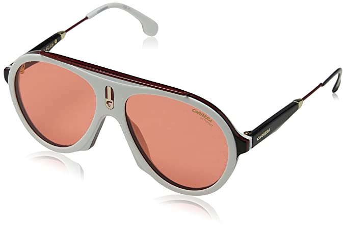 42799626d2 Carrera Flag W9 7DM Gafas de Sol, Blanco (White Red), 57 Unisex Adulto:  Amazon.es: Ropa y accesorios