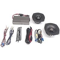 Hogtunes REV 225 SG Kit-AA Frt. Speaker and Amp Kit 98-13 FLTR/X