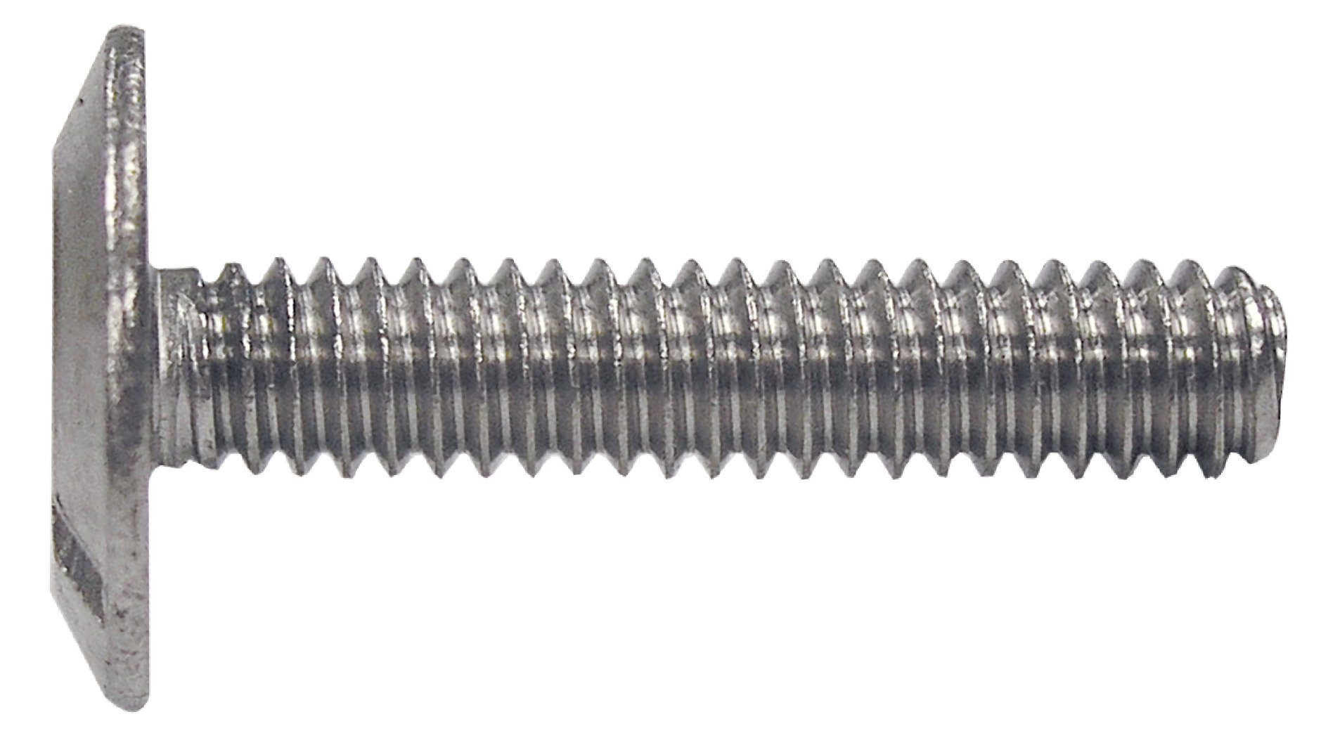 The Hillman Group 831488 1/4 X 1/2-Inch Stainless Steel Hurricane Bolt, 100-Pack by Hillman