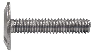 The Hillman Group 831490 1/4 X 1-Inch Stainless Steel Hurricane Bolt, 100-Pack