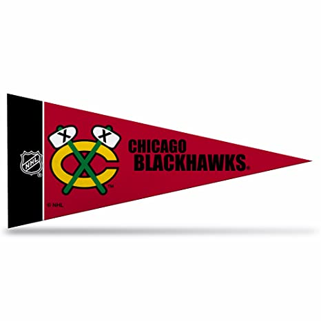 Amazon.com   Chicago Blackhawks Official NHL 10 inch 8 Piece Mini Pennant  Set by Rico Industries   Sports Fan Outdoor Penants   Sports   Outdoors 0be352ac6