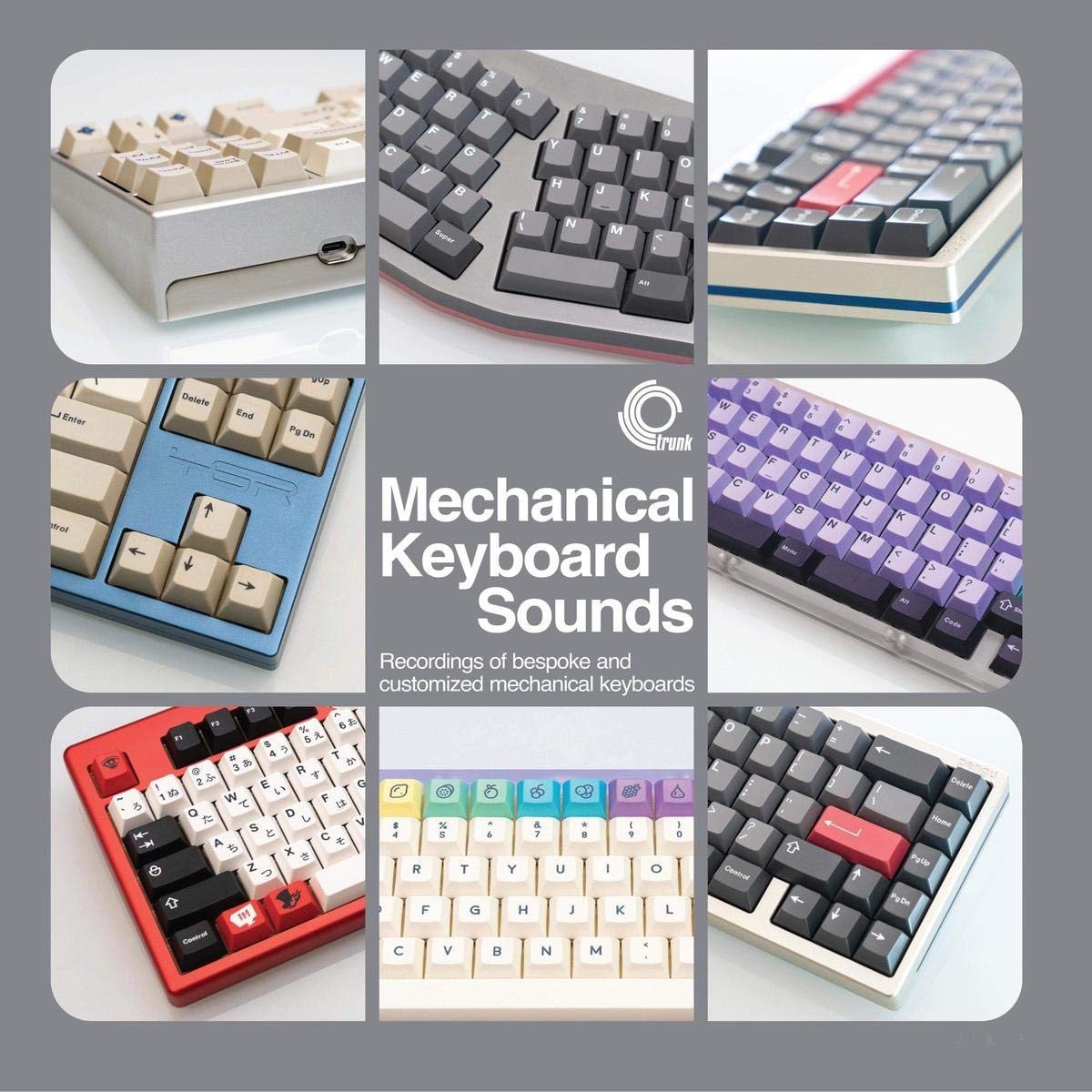 Mechanical Keyboard Sounds: Recordings of bespoke and ...