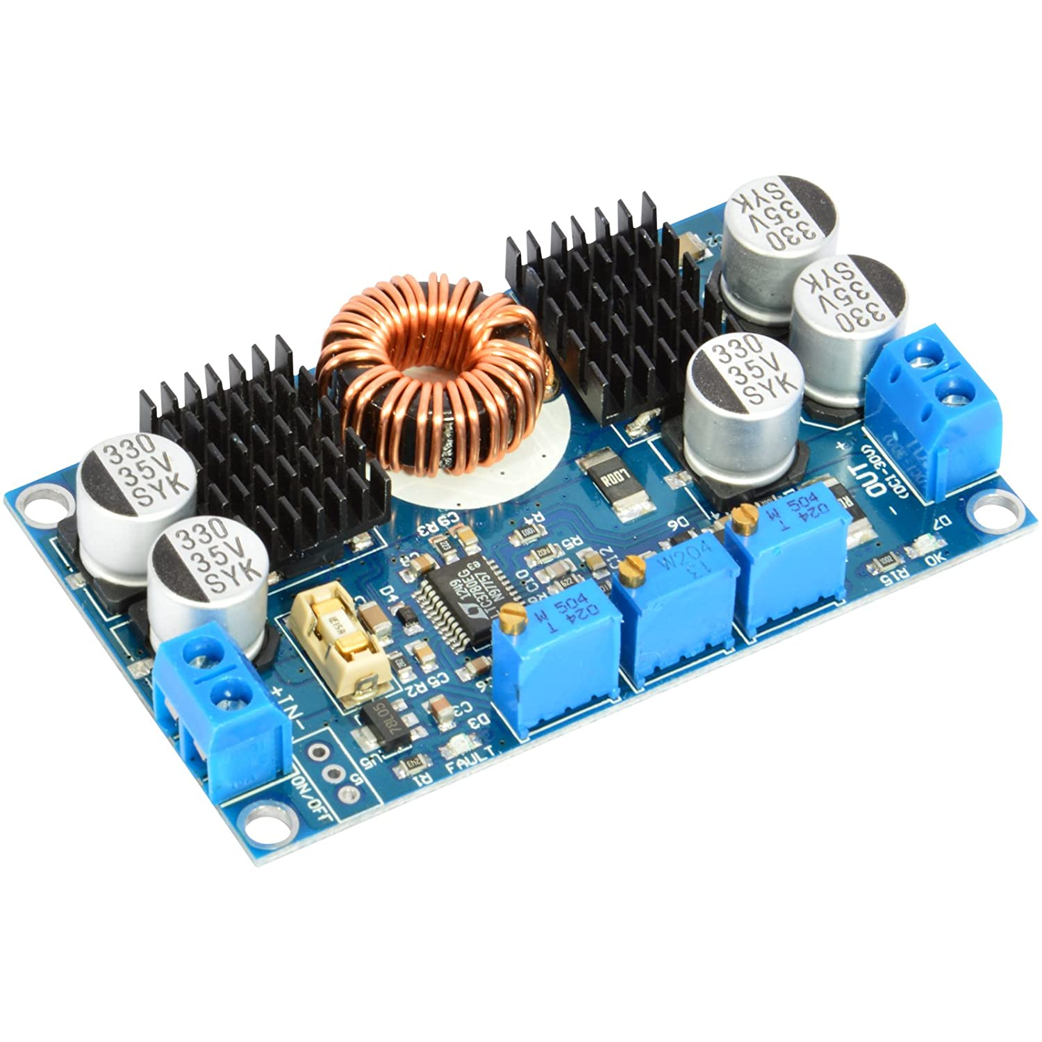 Jacobsparts Ltc3780 130w Dc Synchronous Buck Boost 12v 7a Rectifier Filter Circuits Electronics Projects Voltage Converter Step Up Down Current Power Regulator Board Highest