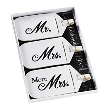 Goldia Mr. & Mrs. Luggage Tags