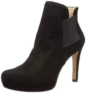 Neu Pura Lopez Schwarz Stiefeletten Damen Auf Verkauf