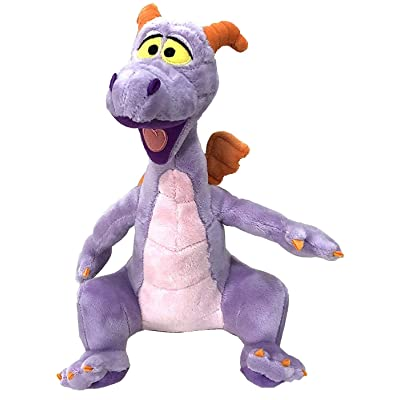 Disney Parks Figment Epcot Purple Dragon 9 inch Smooth Plush Doll: Toys & Games