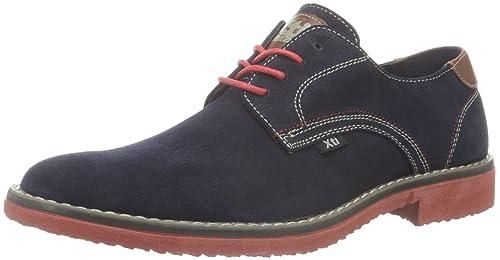 Zapatos azul marino con cordones Xti para hombre kOInwB