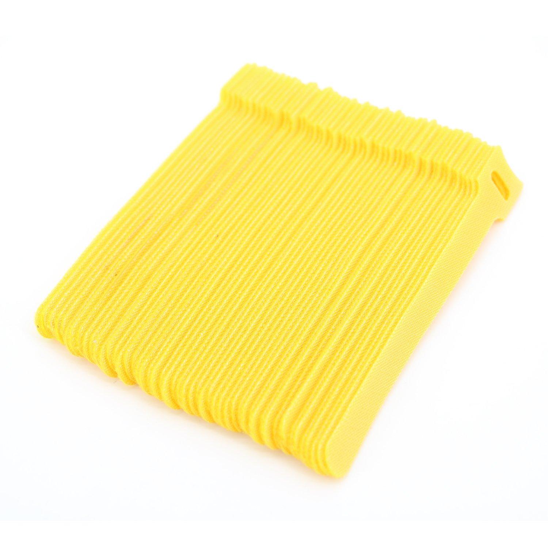 reutilizables, 6 pulgadas Bridas ajustables para sujetar cables Pasow
