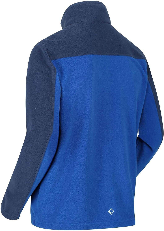 Regatta Mens Fellard Fleece Jacket Full Zip Up Lightweight Outdoor Breeze Coat