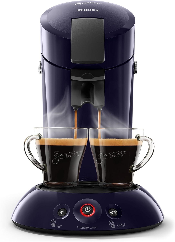 Senseo HD6554/40 cafetera, 1450 W, 0.7 litros, Plástico, Azul ...
