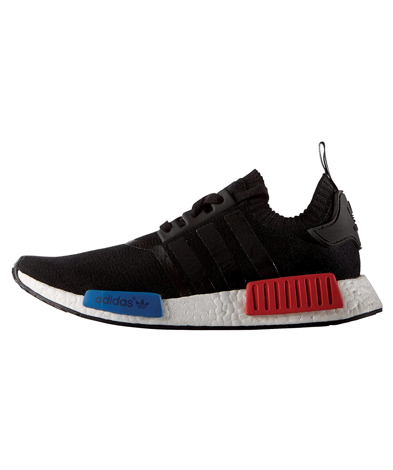 adidas Originals Men s NMD Runner Pk Black and Red Running Shoes - 9 UK  Buy  Online at Low Prices in India - Amazon.in 566edc69e