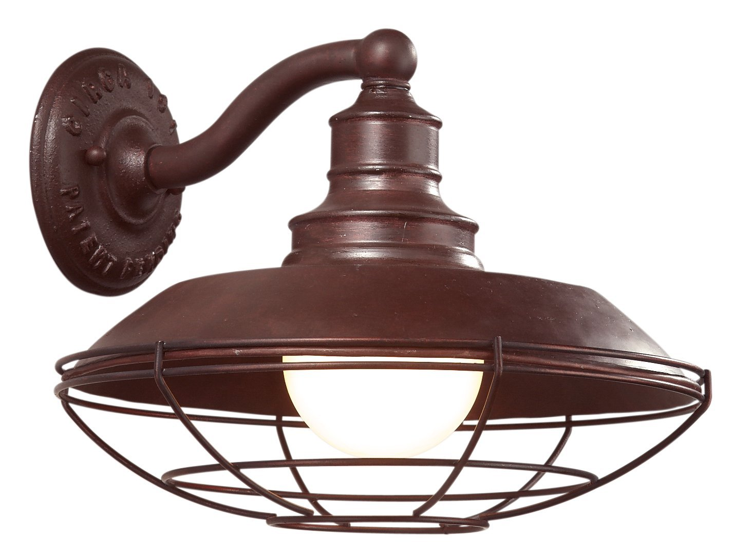 Amazon troy lighting circa 1910 12w outdoor wall light old amazon troy lighting circa 1910 12w outdoor wall light old rust finish home improvement arubaitofo Gallery