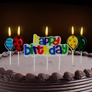 Buy PARTY PROPZ HAPPY BIRTHDAY CANDLE Online At Low Prices In India
