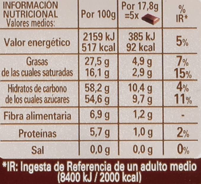 Nestlé - Dolca - Tableta De Chocolate Negro - 125 g: Amazon.es: Alimentación y bebidas