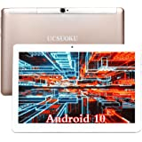 UCSUOKU Tablets 10 Inch,Android 10.0 Deca-Core Processor,4GB RAM,64GB Storage,4G LTE Phablet 10.1 Tablets PC,WiFi,Bluetooth,G