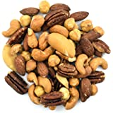 Anna and Sarah Roasted Unsalted Premium Mixed Nuts 3 Lbs - No Peanuts in Resealable Bag