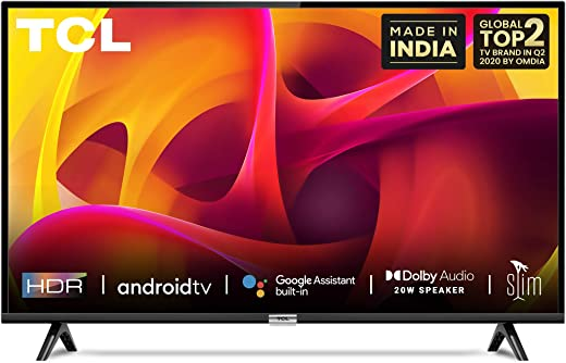 TCL 32 inch HD Ready Certified Android Smart LED TV 32P30S