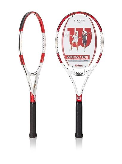 454840636e070 Wilson Six.One 95 16 x 18 String Pattern Tennis Racquet